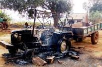 Maoists torch 3 tractors at contractor camp in Odisha's Kalahandi
