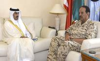 BDF Chief receives National Security Agency President