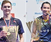 Axelsen, Tai crowned champions in Dubai
