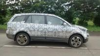 Tata continues extensive highway testing of the Hexa