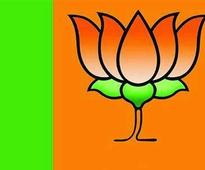 BJP holds agitation against irregularities in civic projects