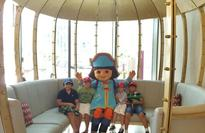 Dora the Explorer Docks at Yas Island Abu Dhabi with Back Pack!