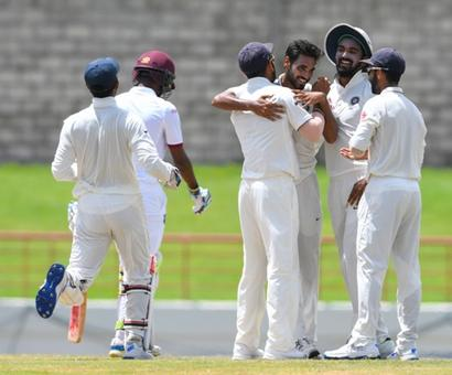 St Lucia Test: India trounce West Indies by 237 runs, pocket series