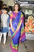 In Pics: Twinkle, Abhishek take part in Sonali Bendre-Goldie Behl's Ganpati celebrations!