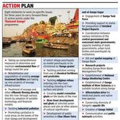 Eight central ministries join hands for clean Ganga mission
