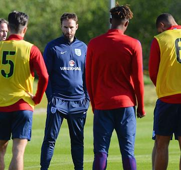 England to name Southgate as temporary manager?
