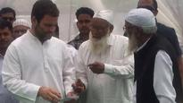 Rahul Gandhi visits his constituency Amethi, to address Janta Durbar