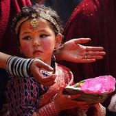 Nepali girls marry Hindu god to protect from widowhood