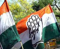 Congress protests in UP against suspension of MPs