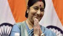 Swaraj calls Gyawali to congratulate, extends invitation to visit India