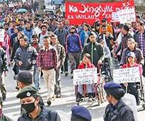 Rally demands Meghalaya Home Minister's resignation