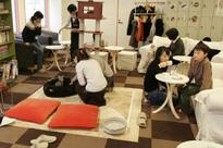 Cats at Japan's 'cat cafes' now allowed to sta... Customers at the Cat Cafe Calico in Tokyo. (file photo / REUTERS) &nb...