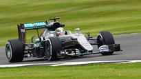 Hamilton tops red-flagged FP3 as Ericsson crashes at Silverstone