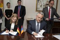 Loan agreement signed between Armenian Central Bank and German KfW Development Bank