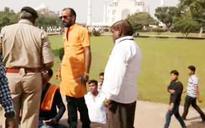 Agra: Hindu Yuva Vahini chants Shiv Chalisa inside Taj Mahal, calls it 'Tejo Mahalay'