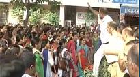 Delhi: Protest breaks out after students stab teacher to death, strict action demanded