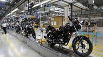 Bajaj Auto's annual net flat; sales skid