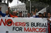 Philippine rights victims urge Supreme Court to block Marcos burial