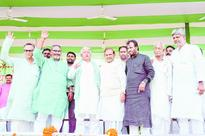 Merger tension whiff in Nitish absence