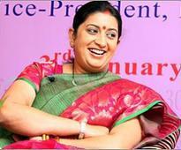 Smriti Irani sends saris as Diwali gifts for Amethi  ..
