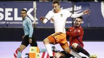 Valencia, Osasuna play out La Liga draw