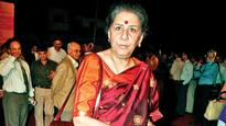 Forgers skim Ambika Soni's MPLAD fund of Rs 30 Lakh