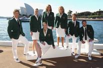 Past Australian Olympic team uniforms