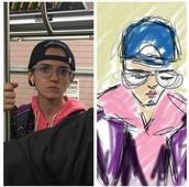 Romenesko Helps Out a Subway Sketch Artist