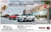 FIAT gets a new address in Goa  Quadros FIAT