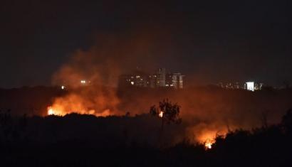 Bengaluru's polluted Bellandur lake catches fire