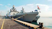Indian navy ships in South China Sea; China sees red