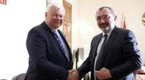 NKR Foreign Minister received Personal Representative of OSCE Chairperson-in-Office