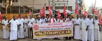 GAIL issue: farmers stage protest in Dharmapuri