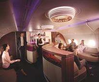 Flying business class in Qatar Airways' Airbus A380 from Sydney