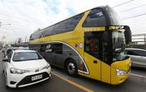DOTC opens 3rd point-to-point bus service in Metro Manila
