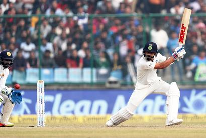 3rd Test, Day 2, PHOTOS: Kohli's 234 fuels India's charge at smog-hit Delhi