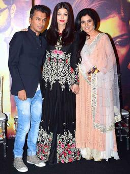 PIX: Aishwarya at a Marathi film's music launch