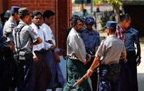 Myanmar jails seven Muslims for killing Buddhist monk