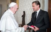 DiCaprio talks ecology with Pope Francis