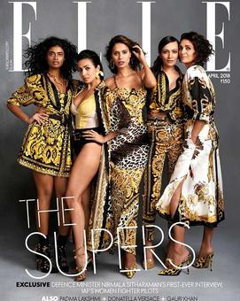 The original supermodels of India reunite for a cover