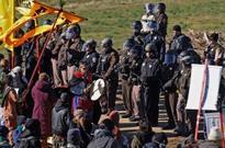 Dozens of demonstrators arrested at North Dakota pipeline