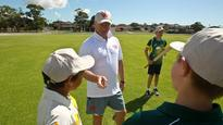 Waugh: Fine line between mentoring and tormenting junior cricketers