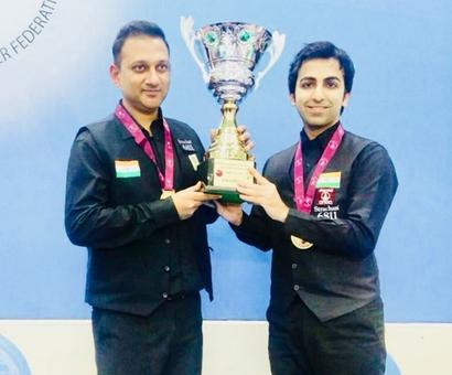Advani-led India pip Pakistan to win Snooker Team World Cup