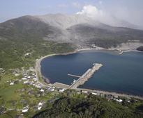 Japanese island evacuated after Volcano eruption, no casualties reported