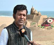 Sudarshan Patnaik is brand ambassador for International Sand