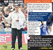 Harbhajan still bowls with an illegal action: Darrel Hair