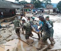 Colombia mudslides kill 206, sweep away homes