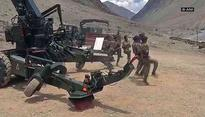 J-K: Army personnel display Bofors gun on Kargil Day celebrations