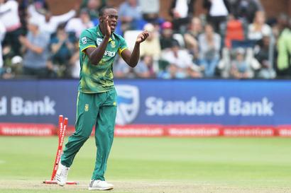Rabada fined and gets demerit point from ICC