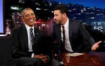 Obama trolls Trump over 'mean tweet' on late night TV
